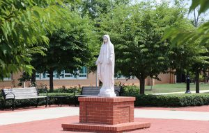 All Saints Catholic School - Parish Courtyard - Manassas, VA
