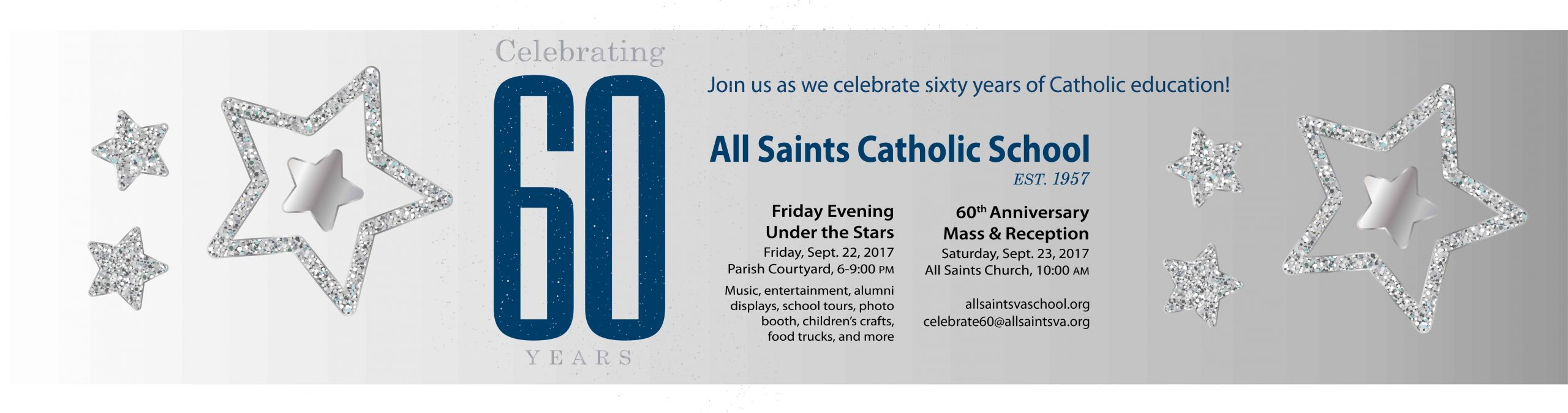 All Saints Catholic School 60th Anniversary Celebration