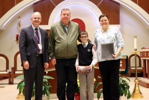 Andrew Horgan wins Veteran's Day Essay Contest
