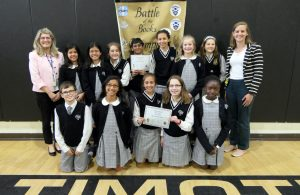 All Saints Catholic School - Battle of the Books competition