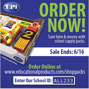 EPI School Supply Orders