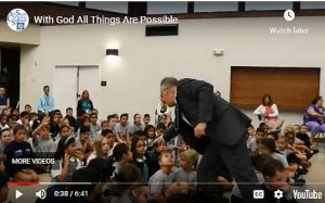 School Assembly: With God All Things Are Possible