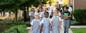 All Saints students - Pre-Kindergarten to 8th grade