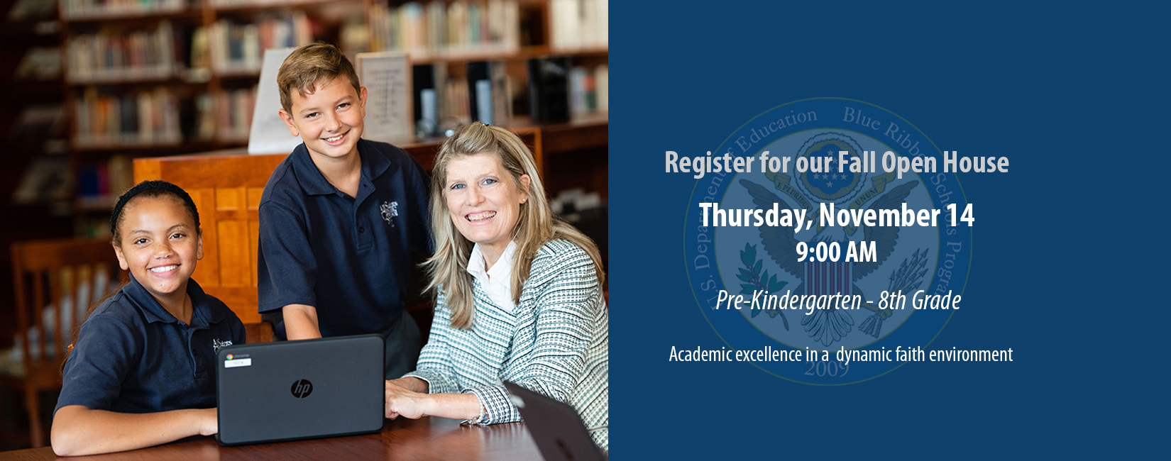 Register today for All Saints upcoming Open House